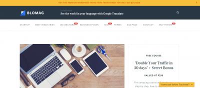 Красивые темы WordPress оптимизированные под Google Adsense