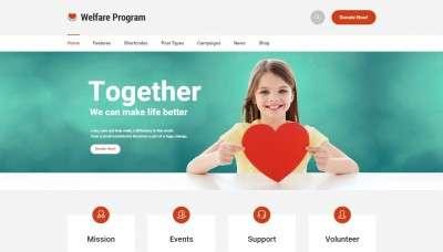 Cайты WordPress для благотворительных организаций 2015-2016 – Шаблоны Вордпресс для НКО