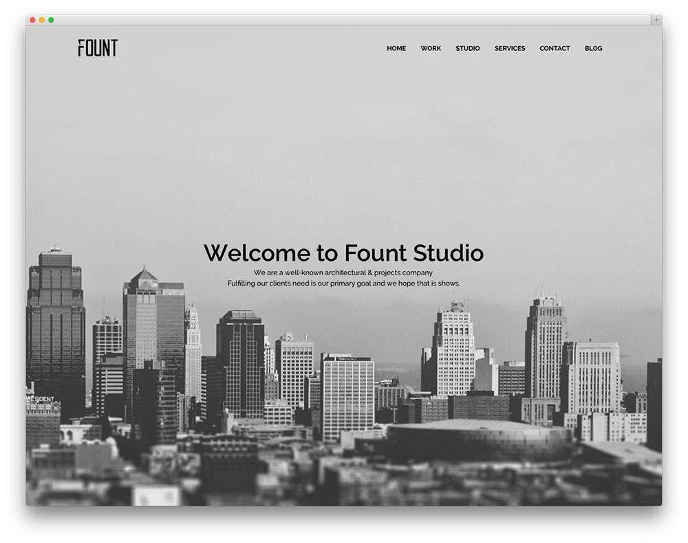Шаблоны WordPress для архитекторов и ландшафтных дизайнеров2