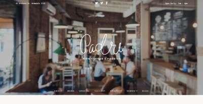 WordPress сайты для кондитерской или кофейной 2016