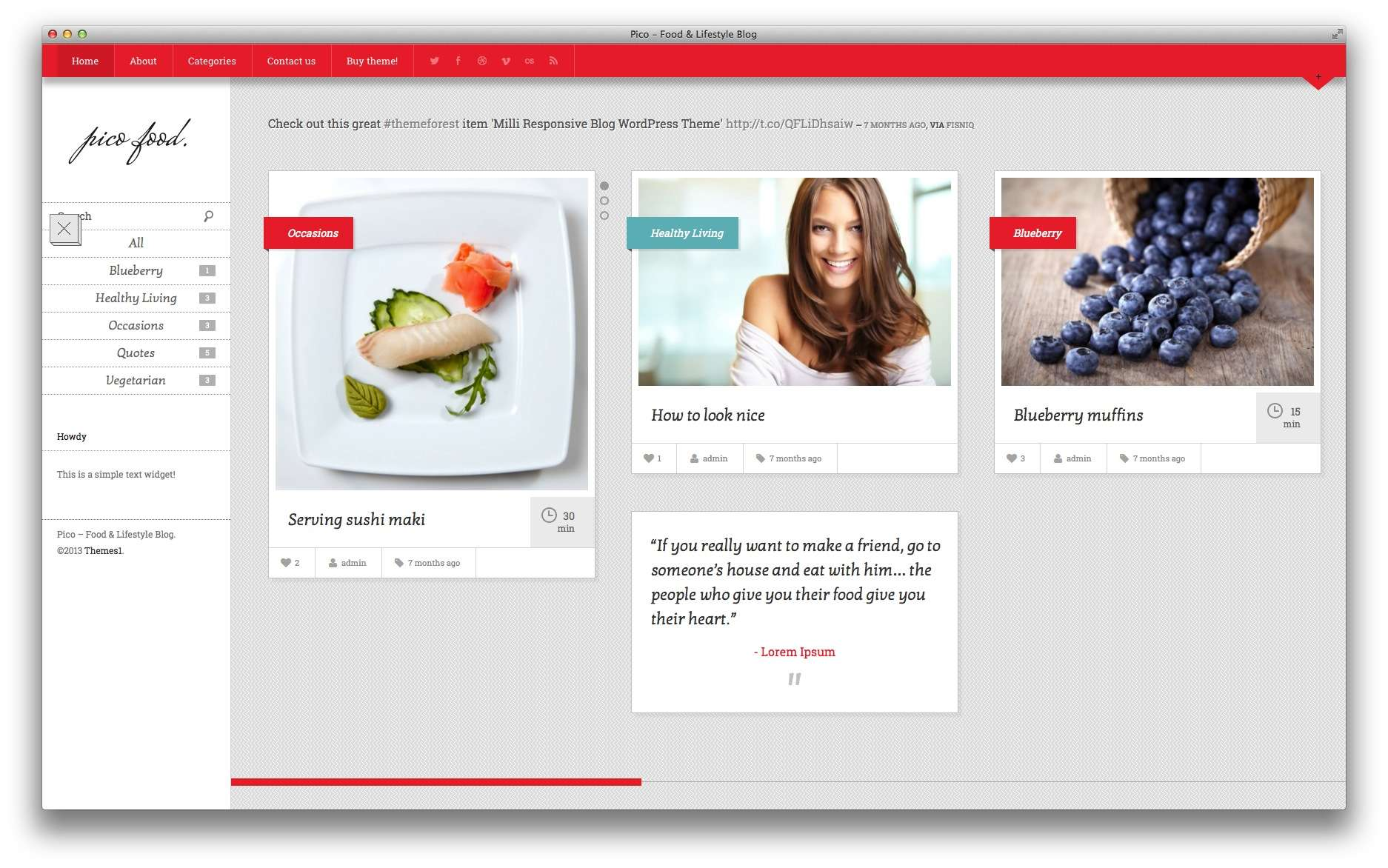 кулинарные темы WordPress 14
