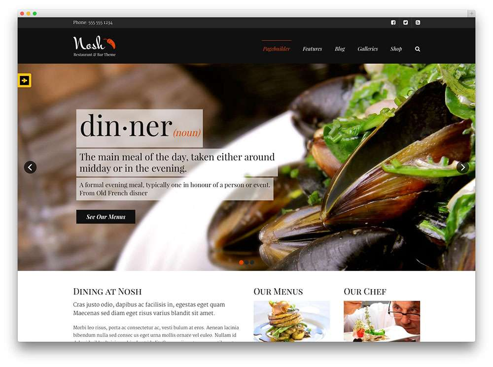 кулинарные темы WordPress 4