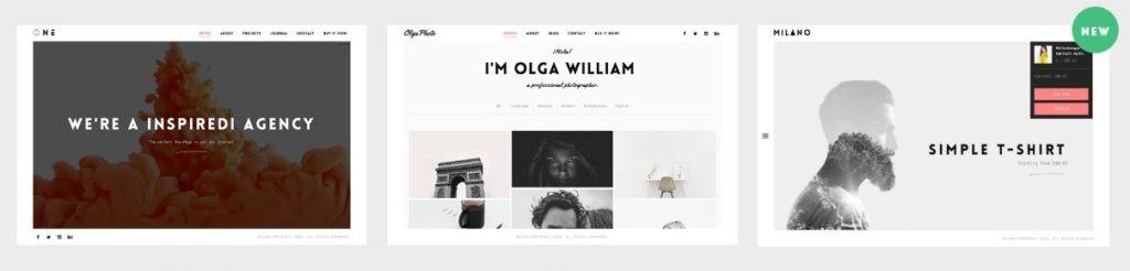лучшие минималистские темы WordPress для бизнеса и блогов 02