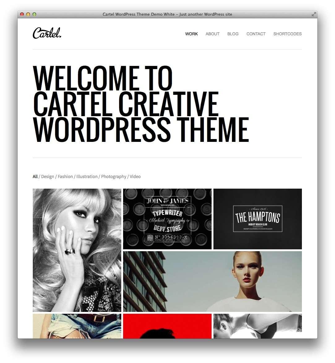 минималистские темы WordPress для бизнеса и блогов13