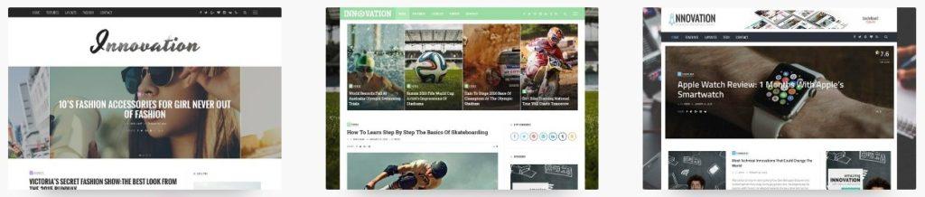 премиум WordPress шаблоны для бизнеса и журнала 06