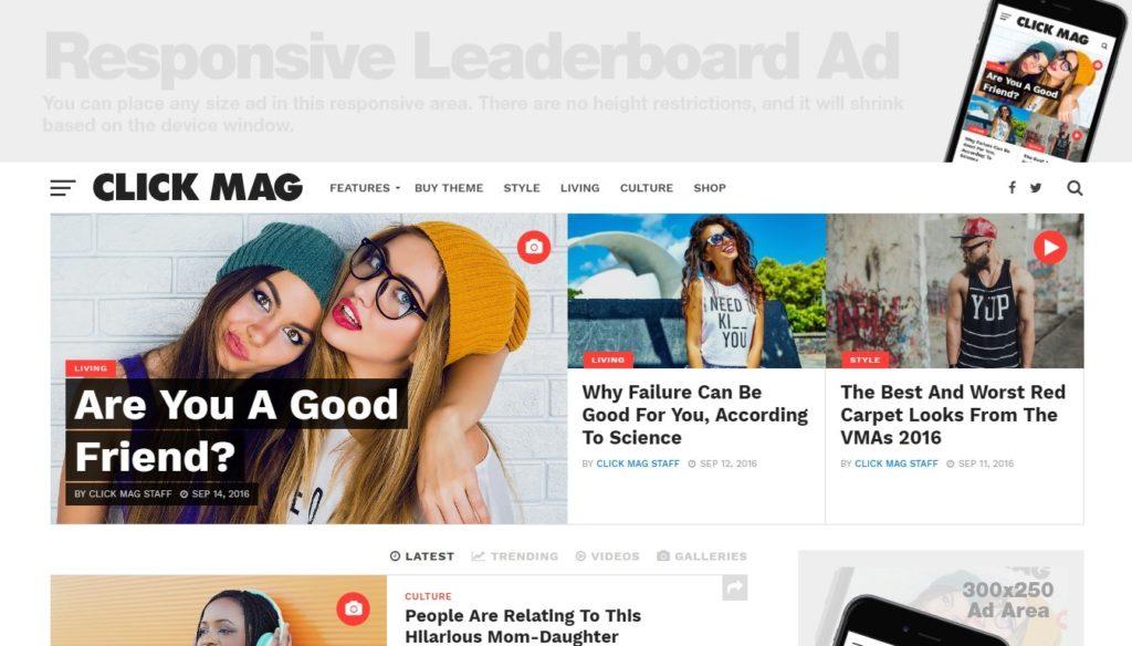 премиум WordPress шаблоны для бизнеса и журнала 07