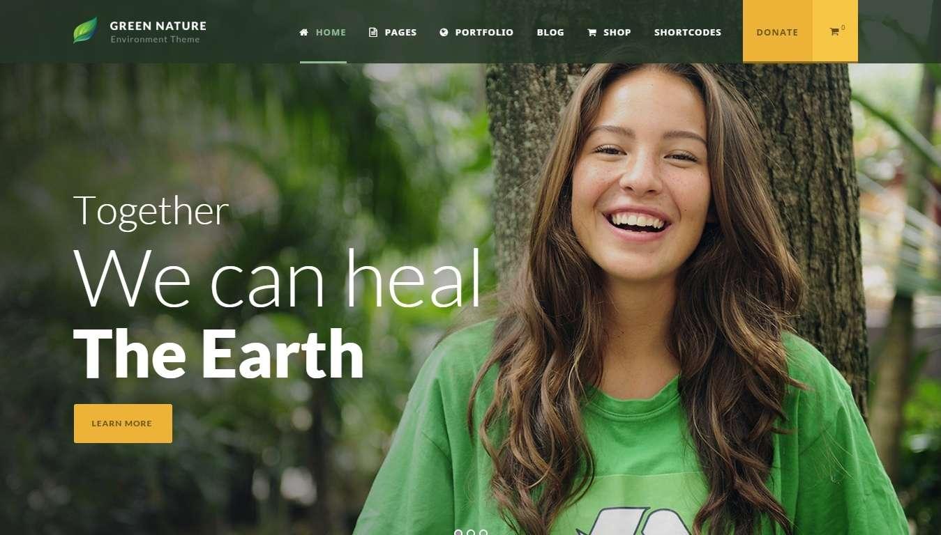 сайт wordpress для благотворительности