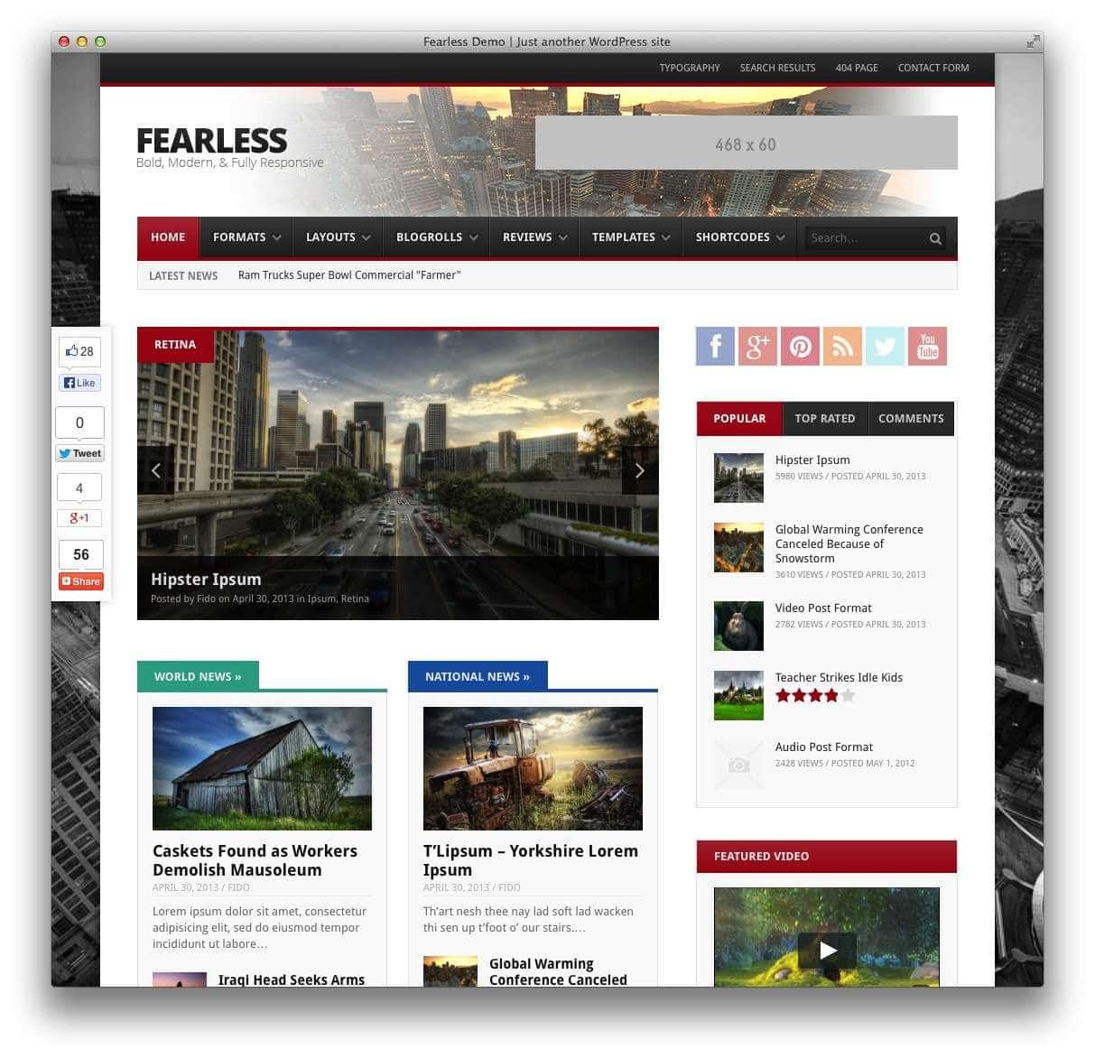 темы WordPress 2015 16