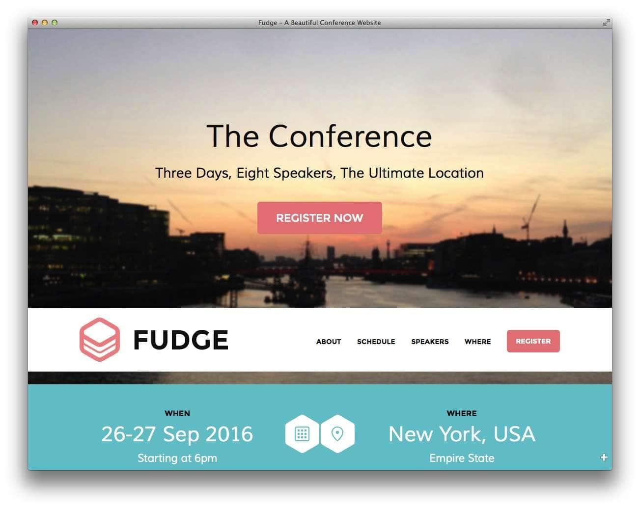 шаблоны wordpress 2015 – события и конференции8
