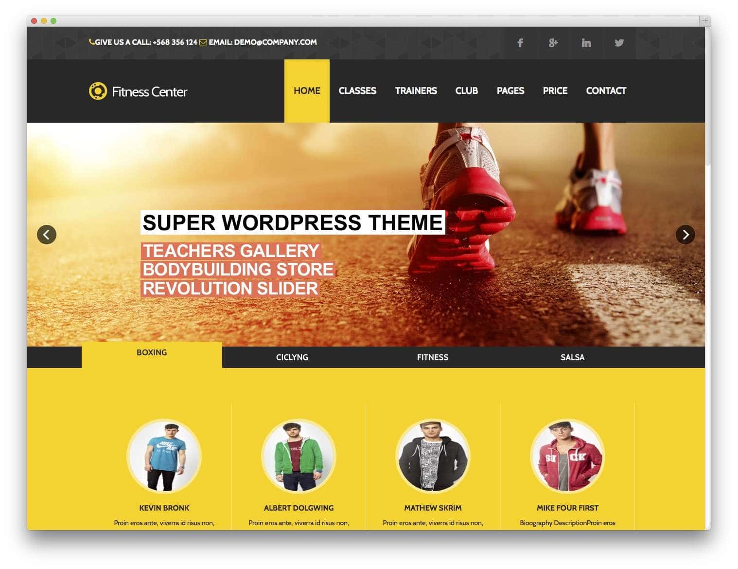 Fitness-eCommerce-gym-theme