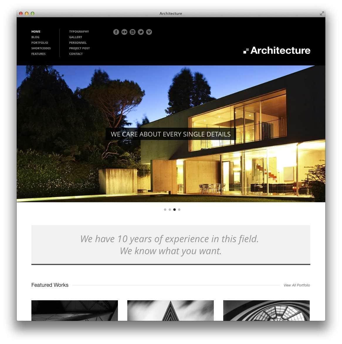 WordPress Шаблоны для архитекторов и ландшафтных дизайнеров11