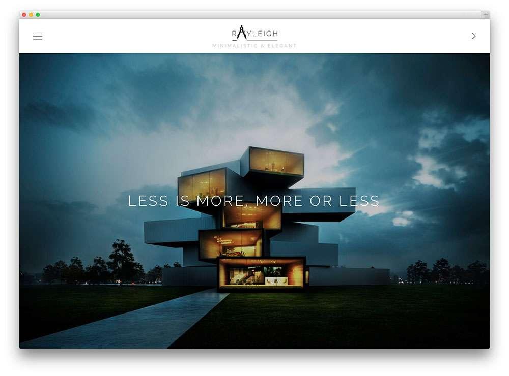 WordPress для архитекторов и ландшафтных дизайнеров: обзор шаблонов WordPress