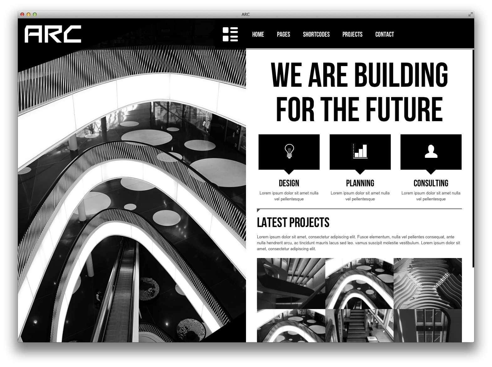 WordPress Шаблоны для архитекторов и ландшафтных дизайнеров4