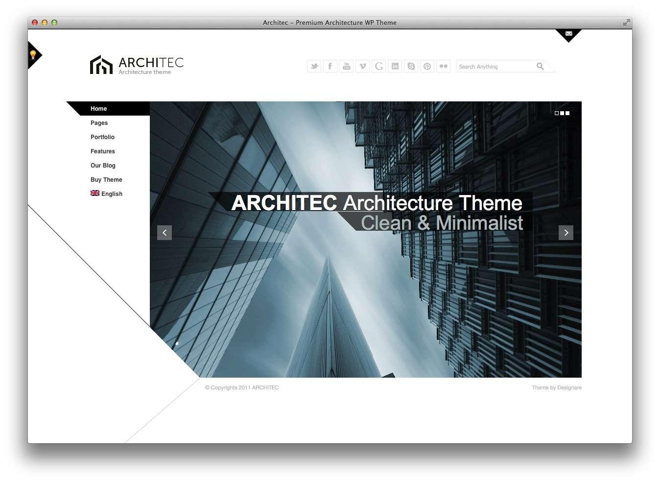 WordPress Шаблоны для архитекторов и ландшафтных дизайнеров7