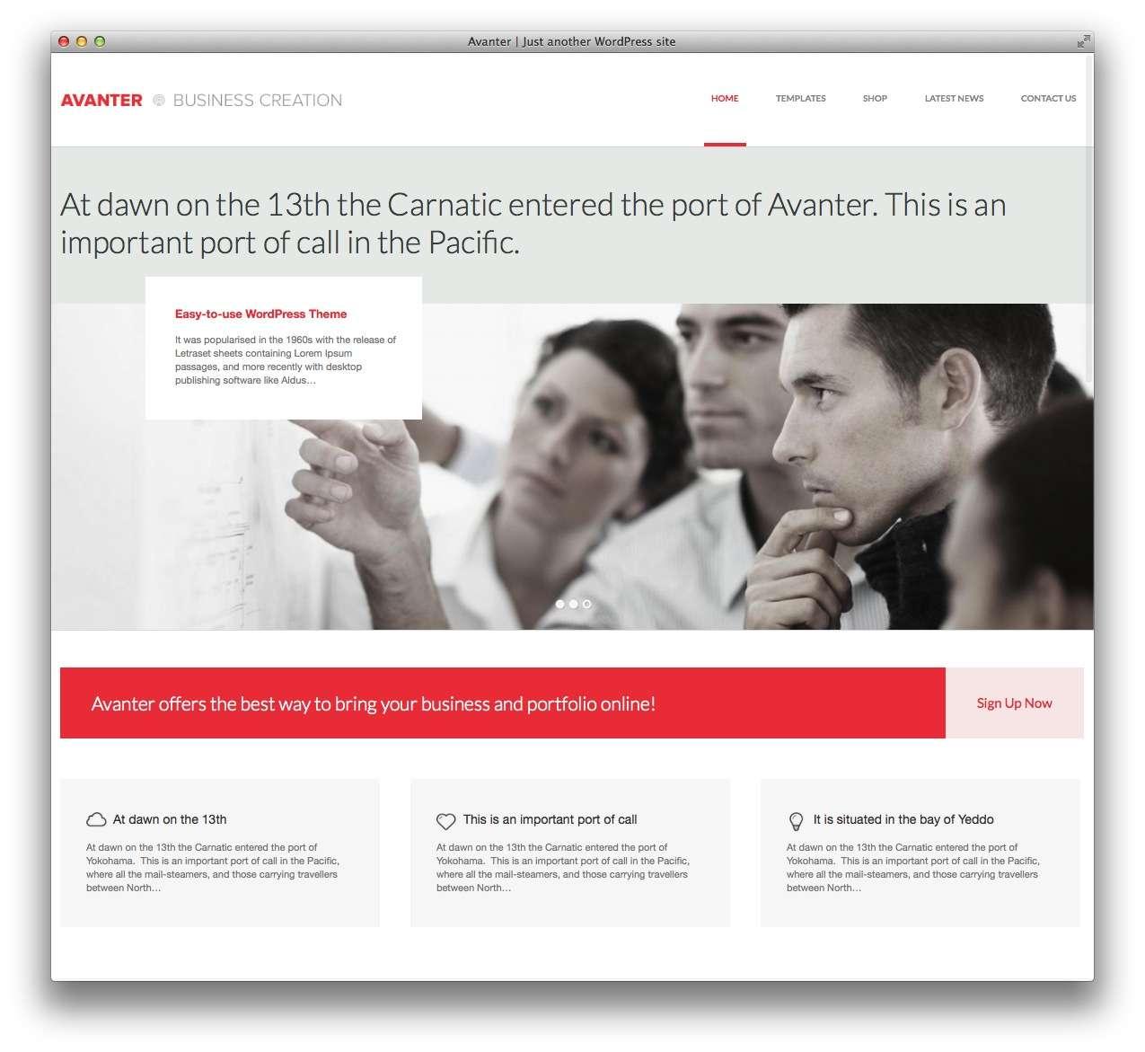 WordPress Шаблоны для архитекторов и ландшафтных дизайнеров8
