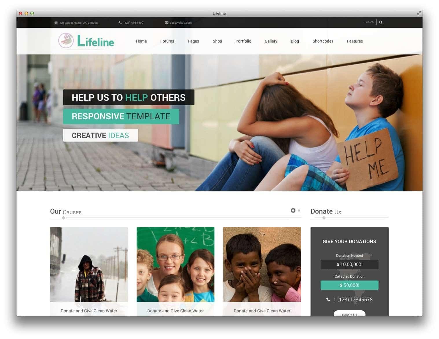 WordPress для благотворительных организаций4