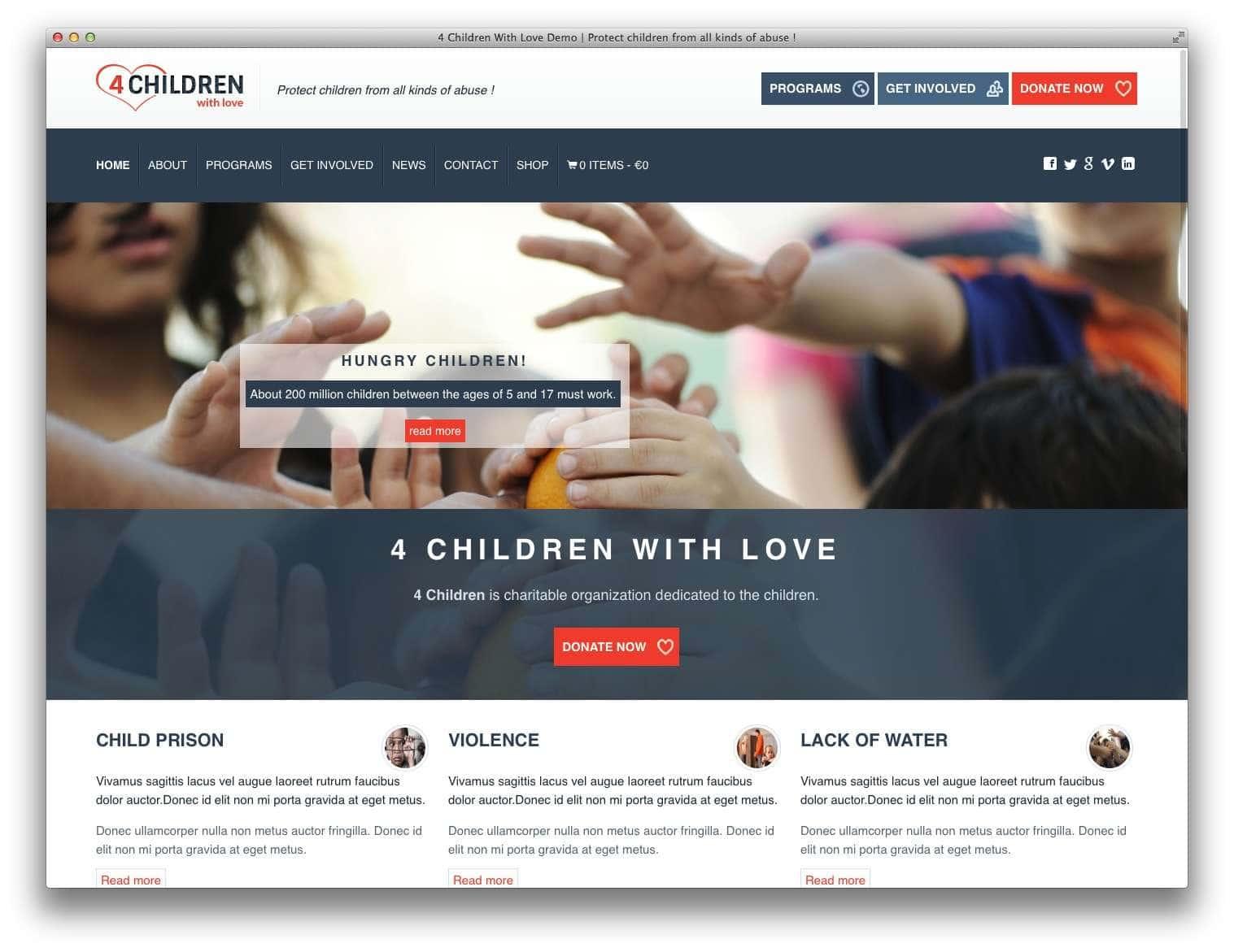 WordPress для благотворительных организаций6
