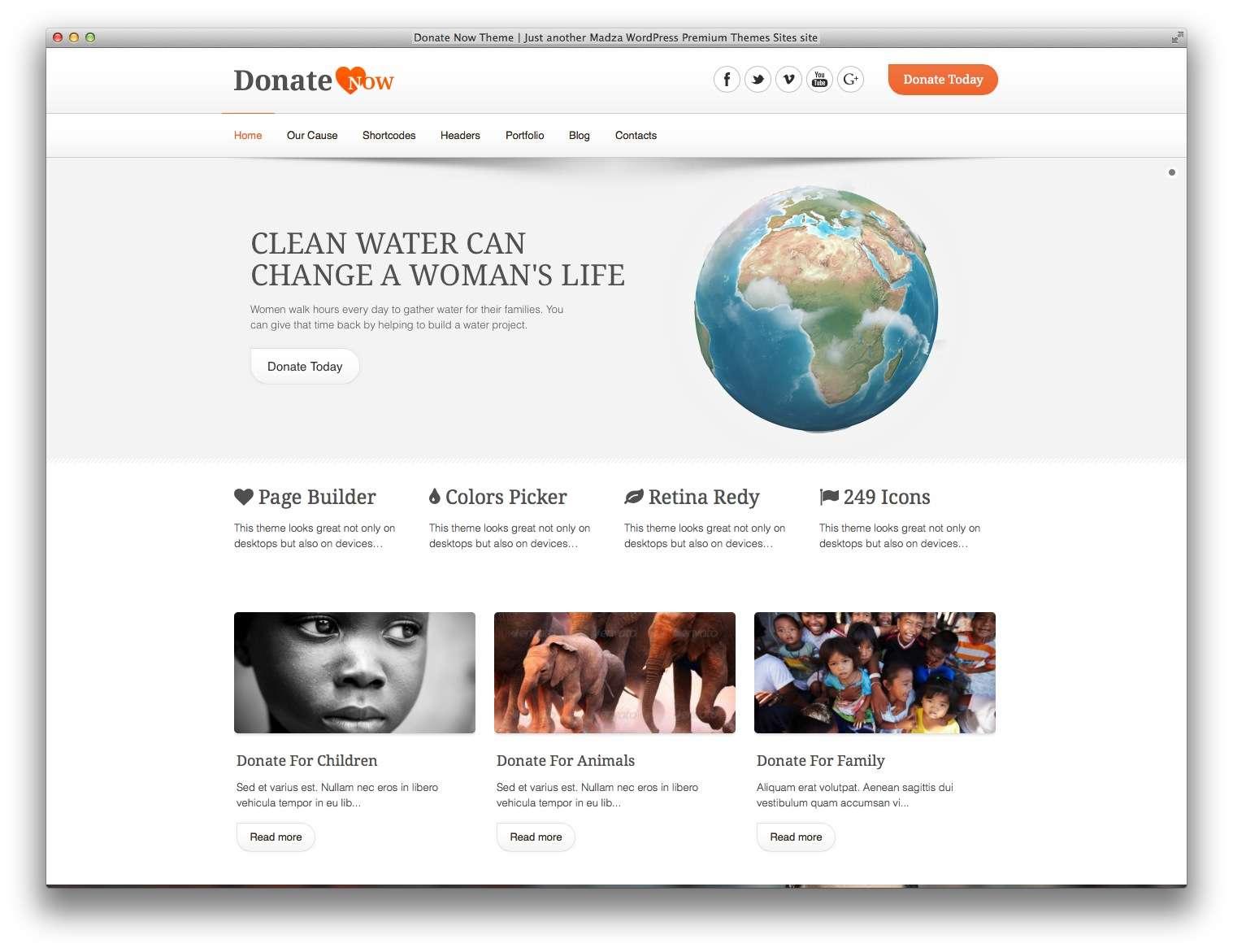 WordPress для благотворительных организаций9