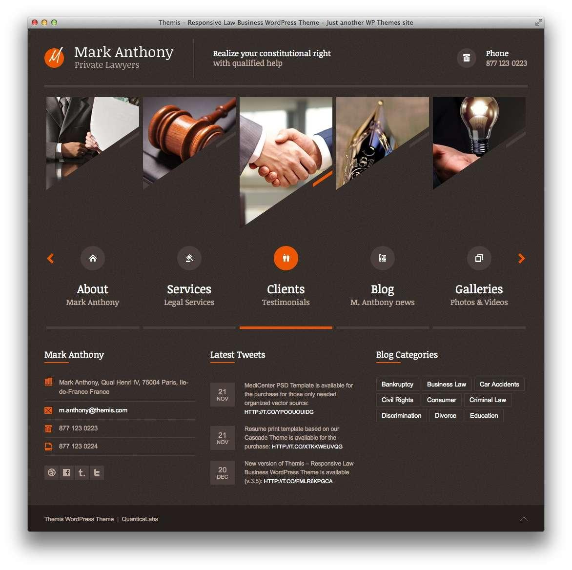 WordPress – Адвокаты и юридическая практика19