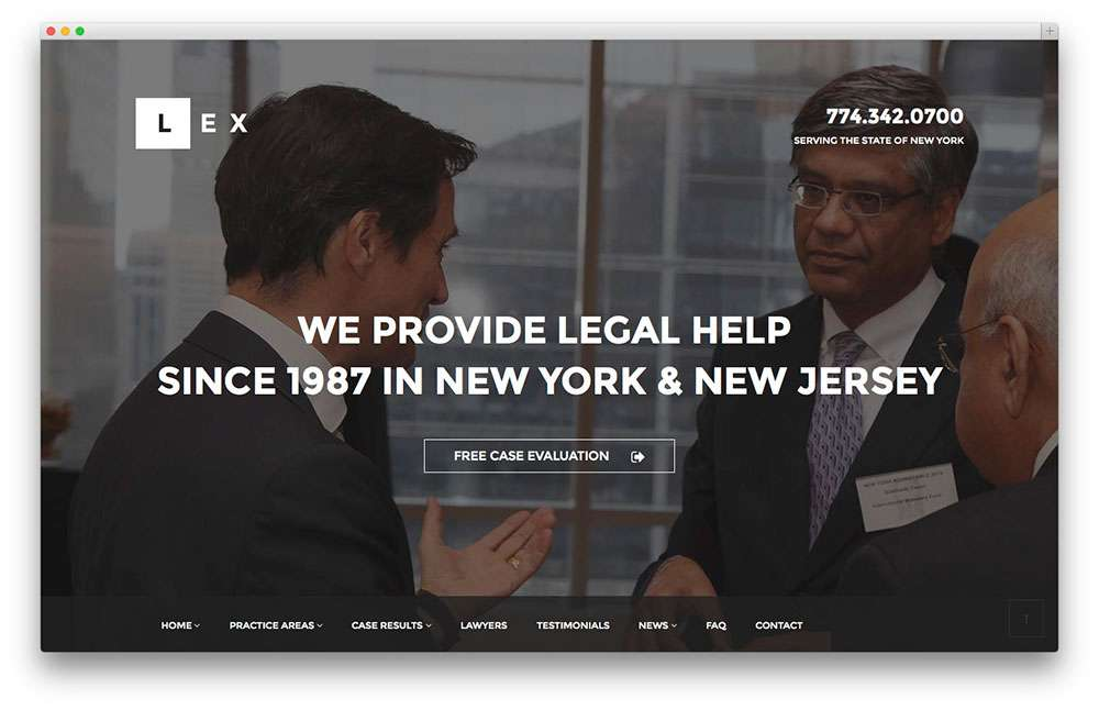 Деловые темы WordPress для адвокатов и юристов: обзор шаблонов WordPress