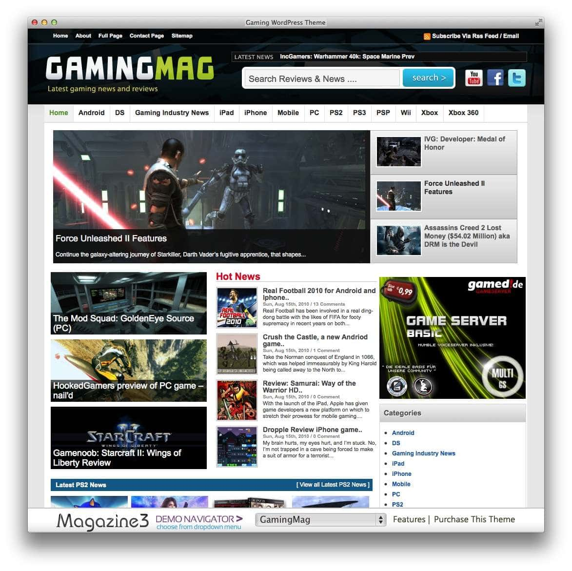 gamingmag-theme