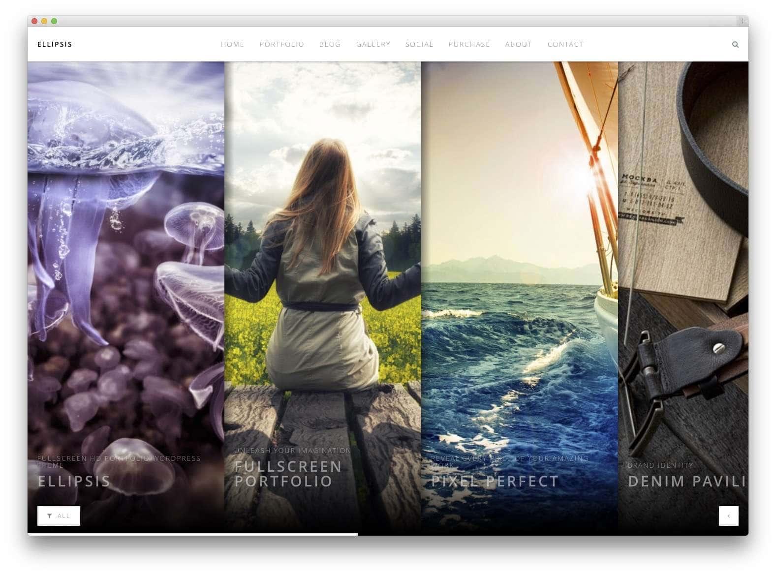 Шаблоны WordPress для портфолио 201516