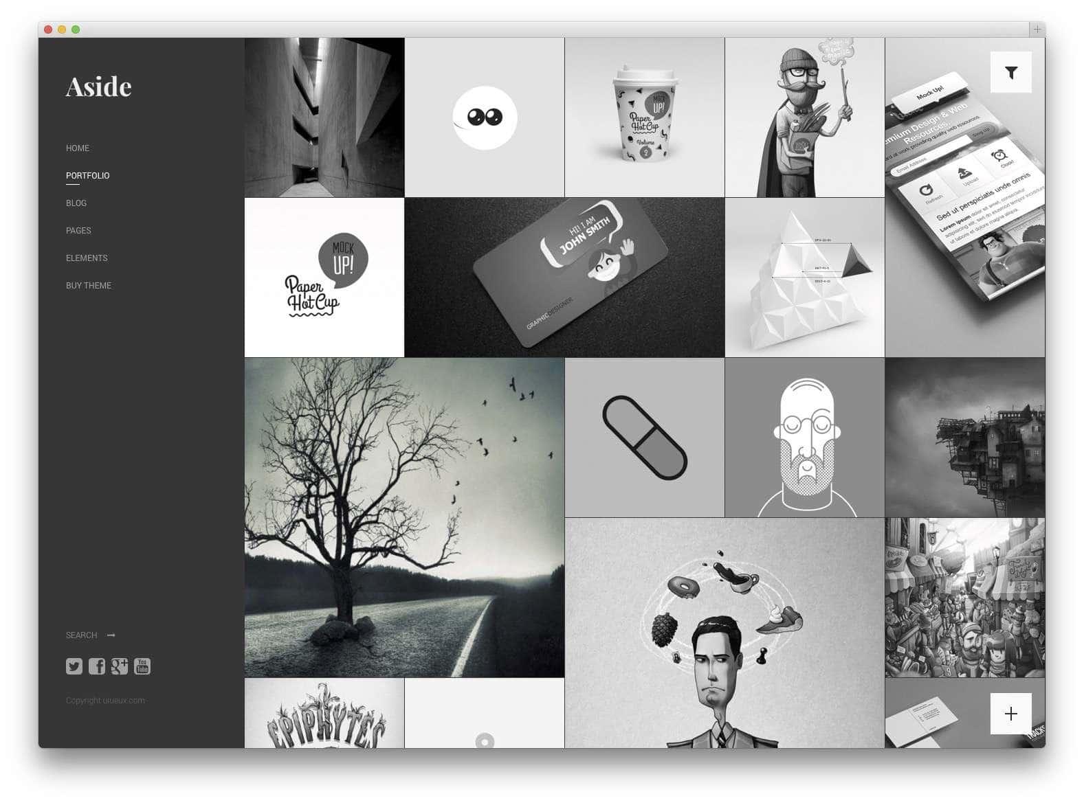 Шаблоны WordPress для портфолио 201517