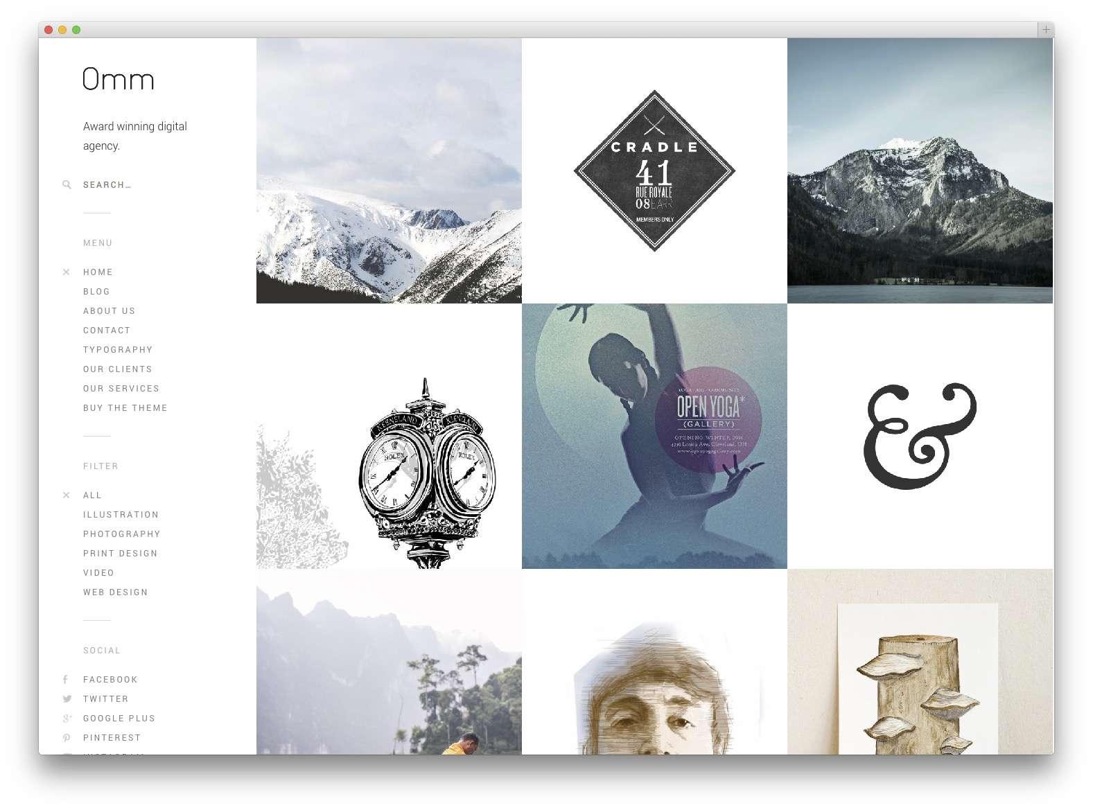 Шаблоны WordPress для портфолио 201518