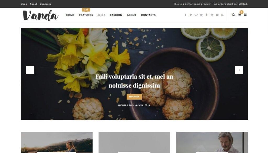 бесплатные шаблоны WordPress 04