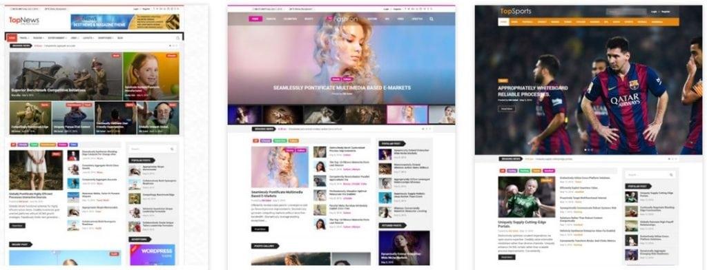 бесплатные шаблоны WordPress 05