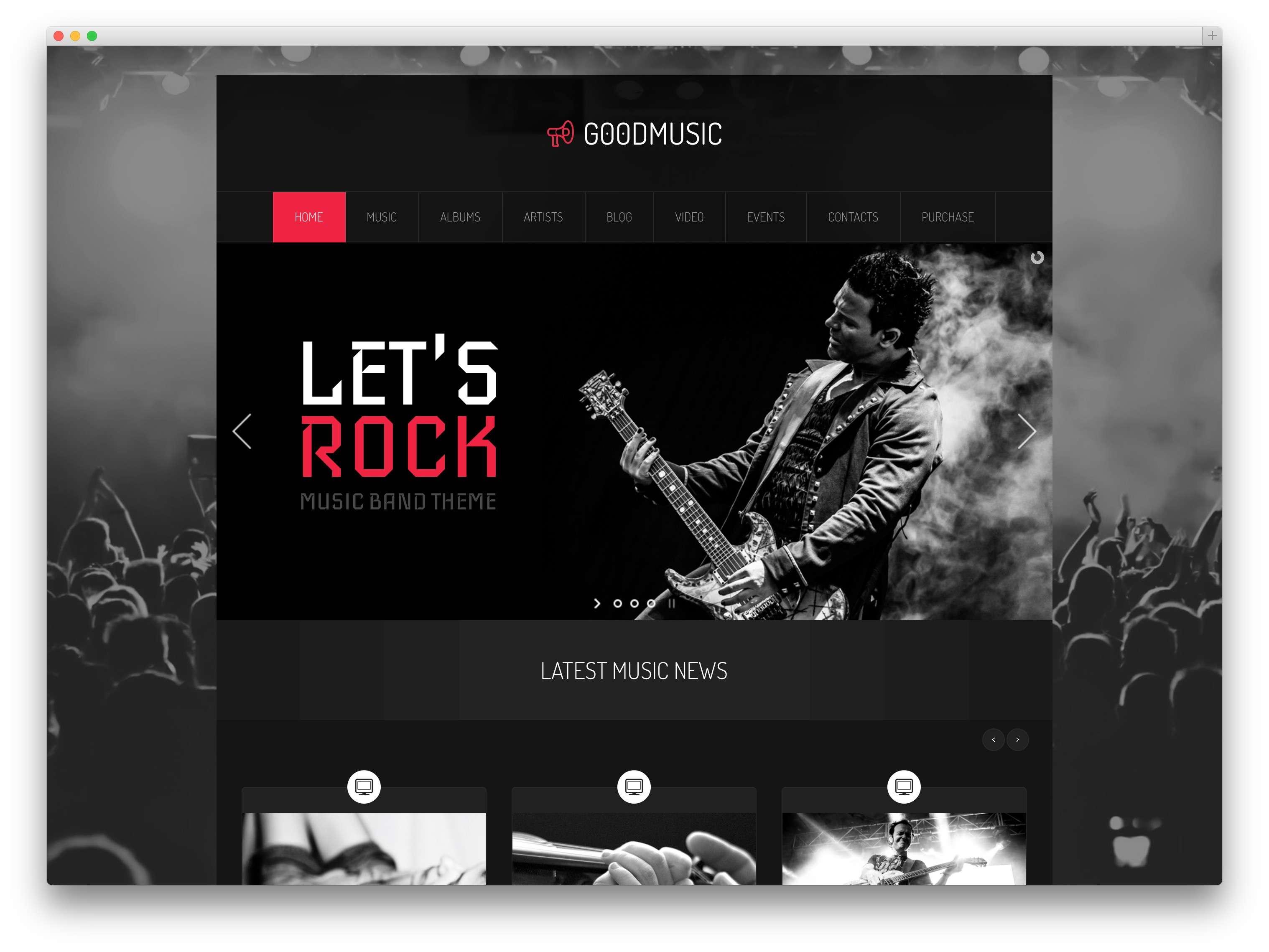 музыкальные темы WordPress 20152
