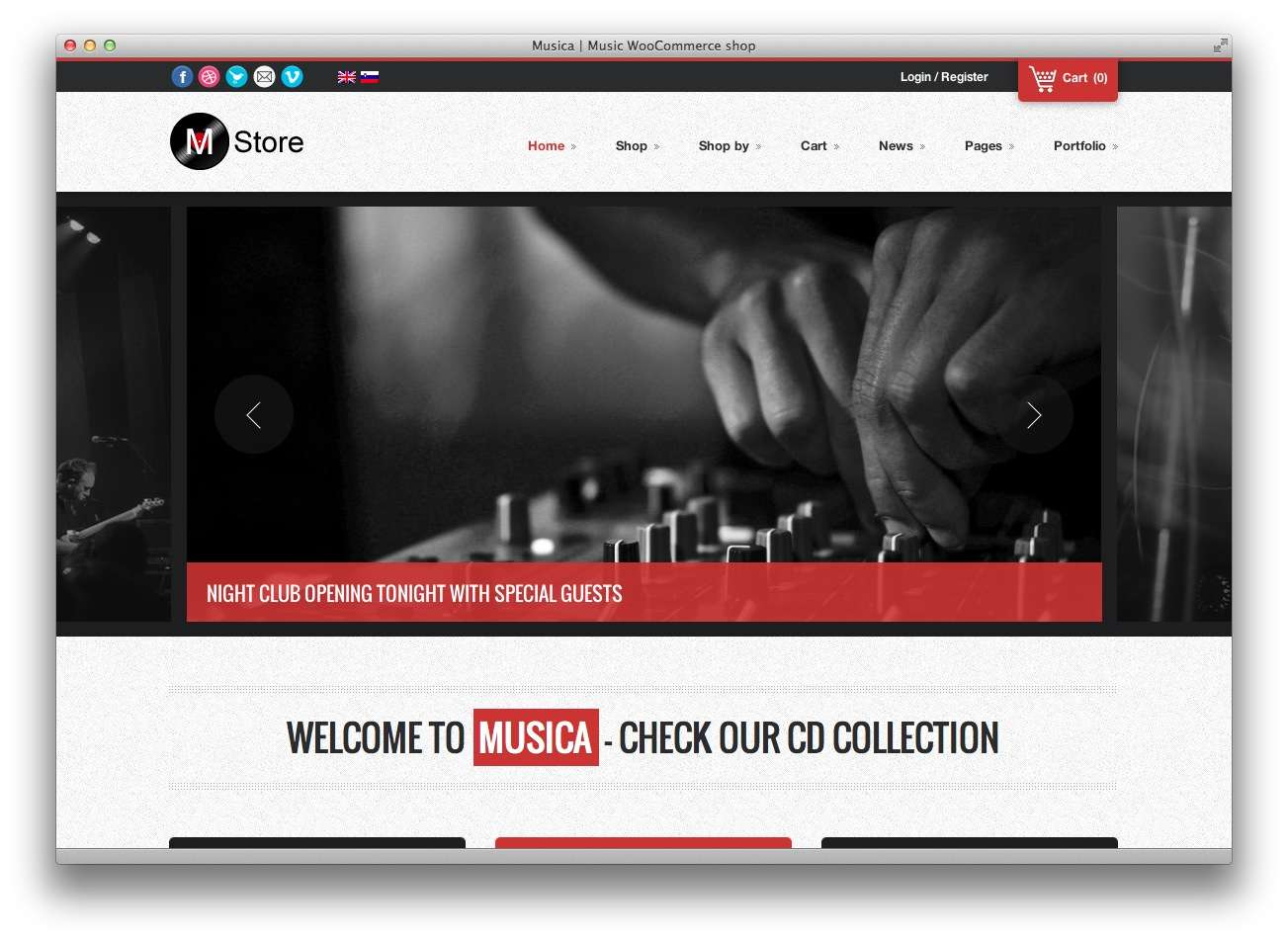 музыкальные темы WordPress14
