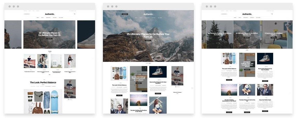 Скачать темы WordPress с премиум дизайном и функциями