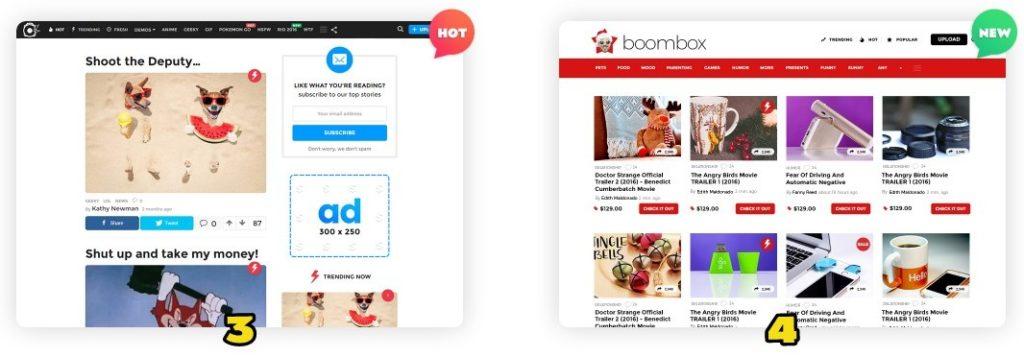 скачать шаблоны WordPress с премиум дизайном и функциями 03