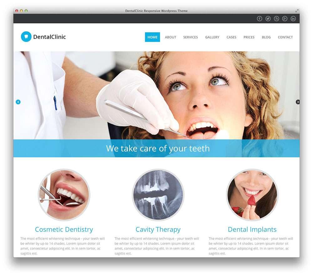 WordPress темы о здоровье 12