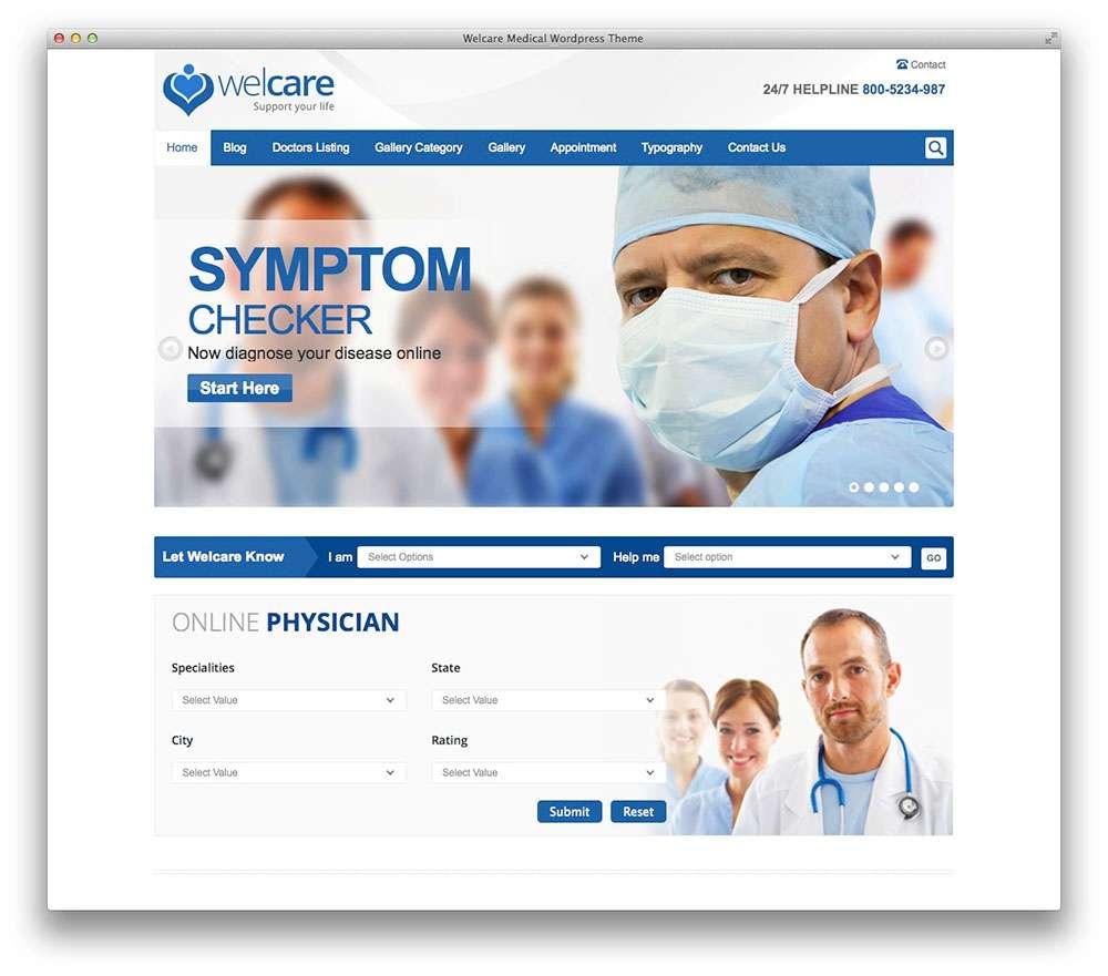 WordPress темы о здоровье 6