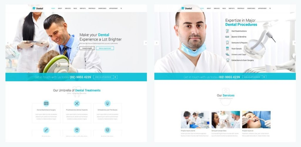 WordPress темы о здоровье и медицине 05