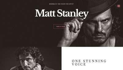 Музыкальные темы на WordPress для солистов и музыкантов 2016
