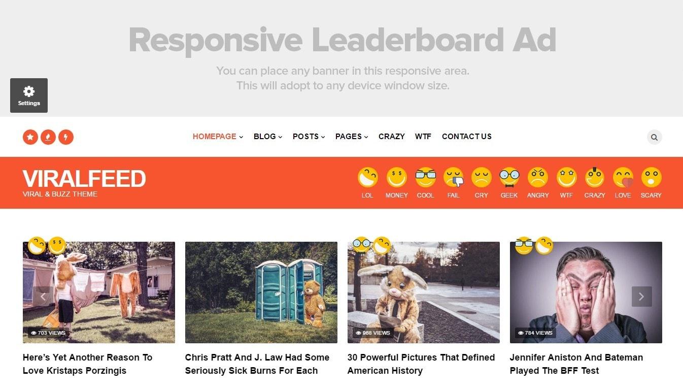 демо шаблоны WordPress с контентом и современным дизайном 05
