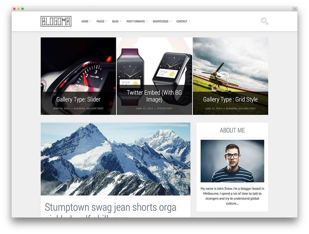 Чистые темы на WordPress — Коллекция шаблонов WordPress для агентств, портфолио, блога и бизнеса