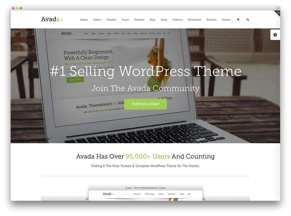 корпоративные темы на WordPress