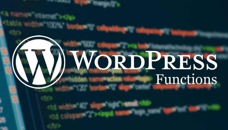 Полезные функции WordPress