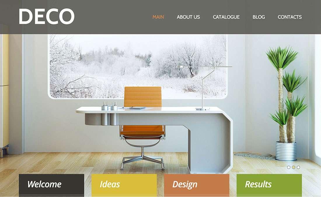 40+ дизайнерские шаблоны Вордпресс — Темы WordPress для интерьерного дизайна 2015