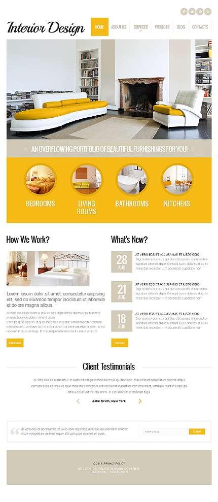 шаблоны WordPress дизайн