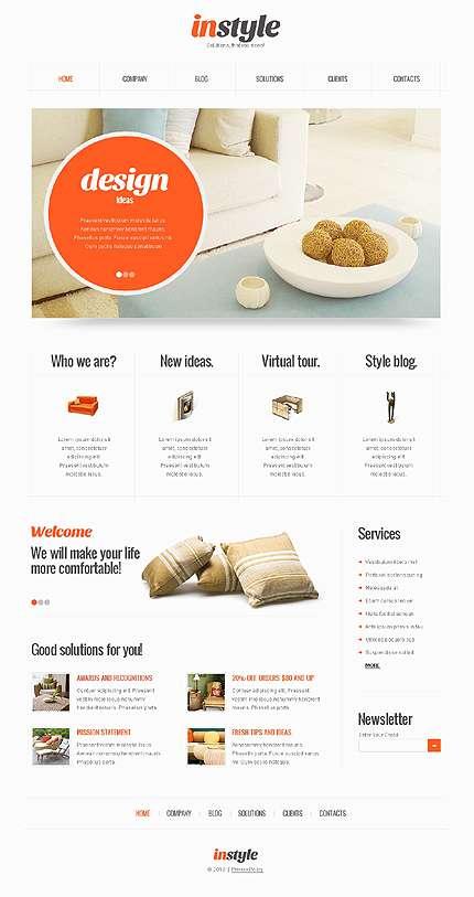 темы WordPress интерьер дизайн