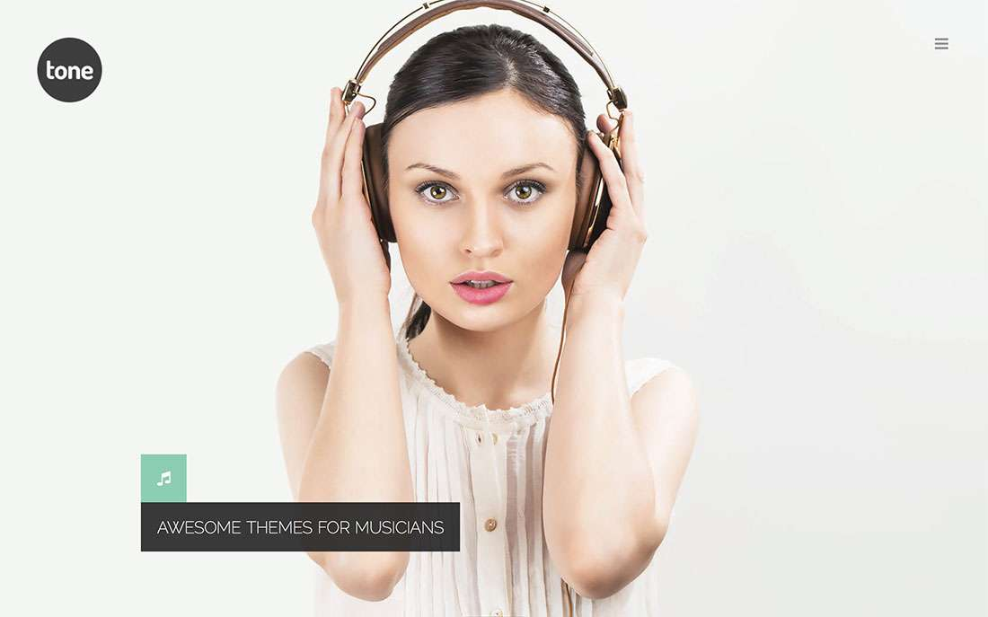 Лучшие музыкальные темы WordPress — 2015 Вордпресс шаблоны для артистов, музыкантов, певцов