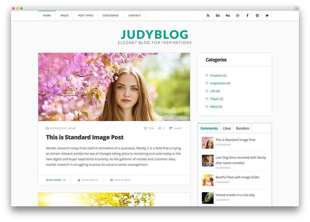 красивые WordPress темы