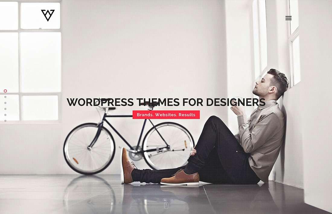 Профессиональные и креативные темы WordPress для дизайнеров 2015