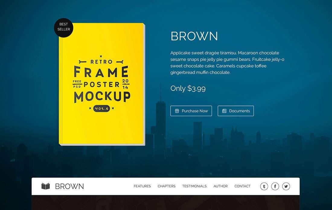 Чистые и отзывчивые темы WordPress для продажи электронных продуктов – Шаблоны Вордпресс eBooks 2015