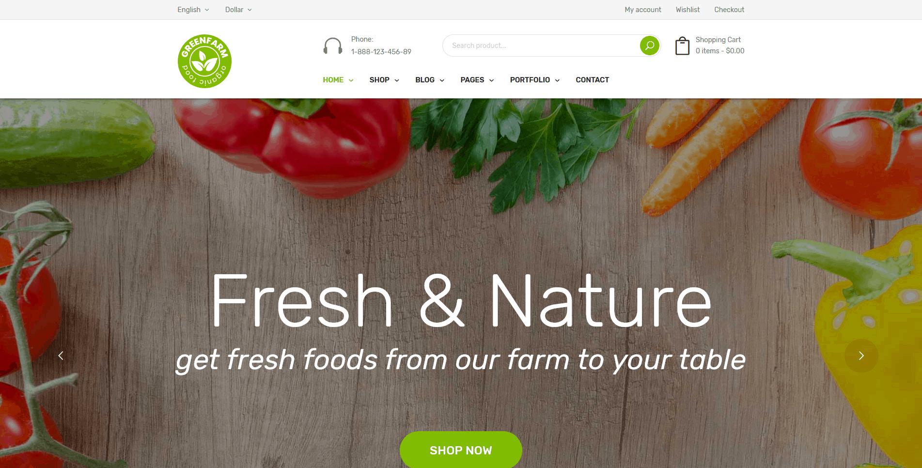 Зелёная ферма